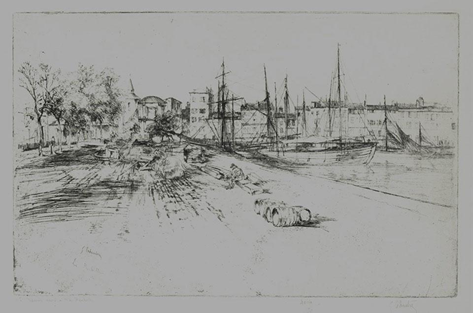 Le Bassin Neuf a La Rochelle