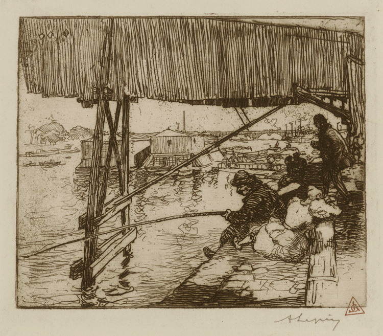 Under the Bridge of Bercy