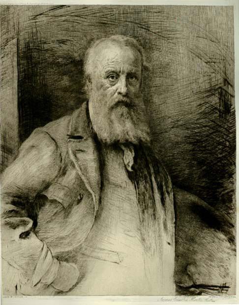 Portrait Of James Hook