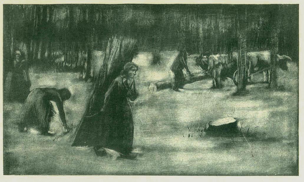 Women Looking for Wood (Holzsuchende Frauen)