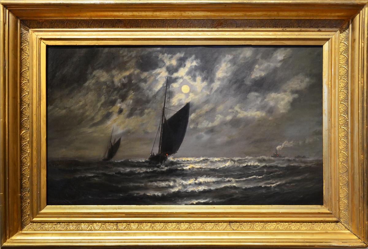 Moonlit Sailing
