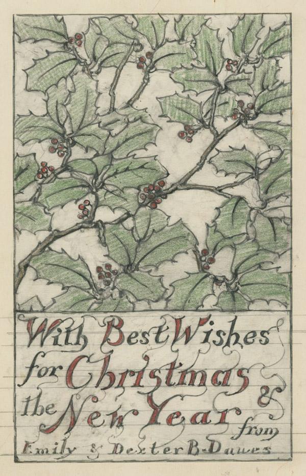Christmas Card 1932