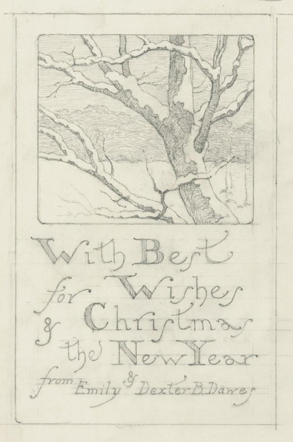 Christmas Card 1940
