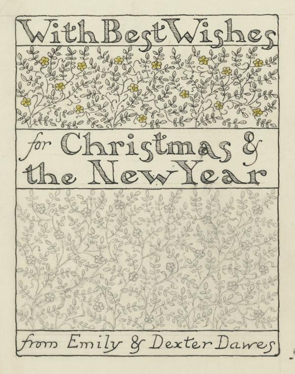 Christmas Card 1945