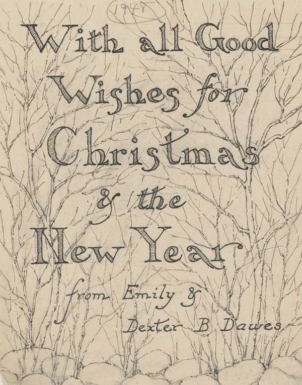 Christmas Card 1948