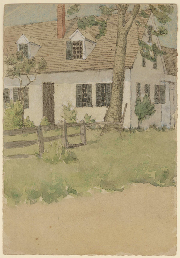 Cottage With Shutters
