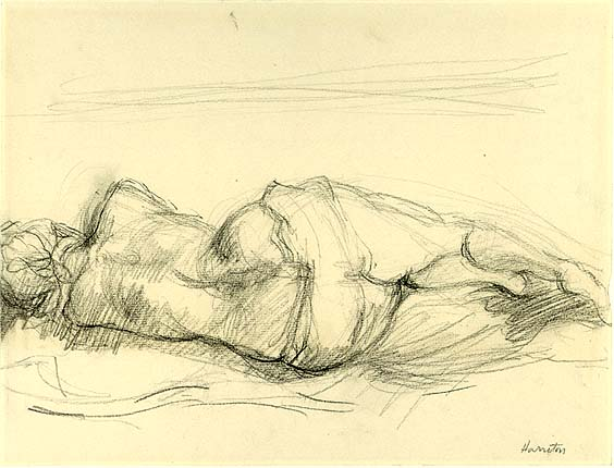 Nude Study, Reclining