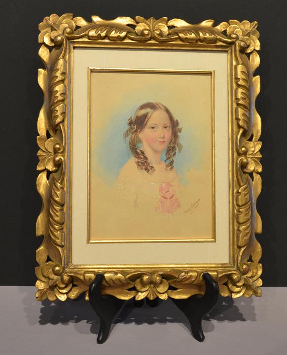 Portrait of Lady Adelaide Horatia Elizabeth Seymour
