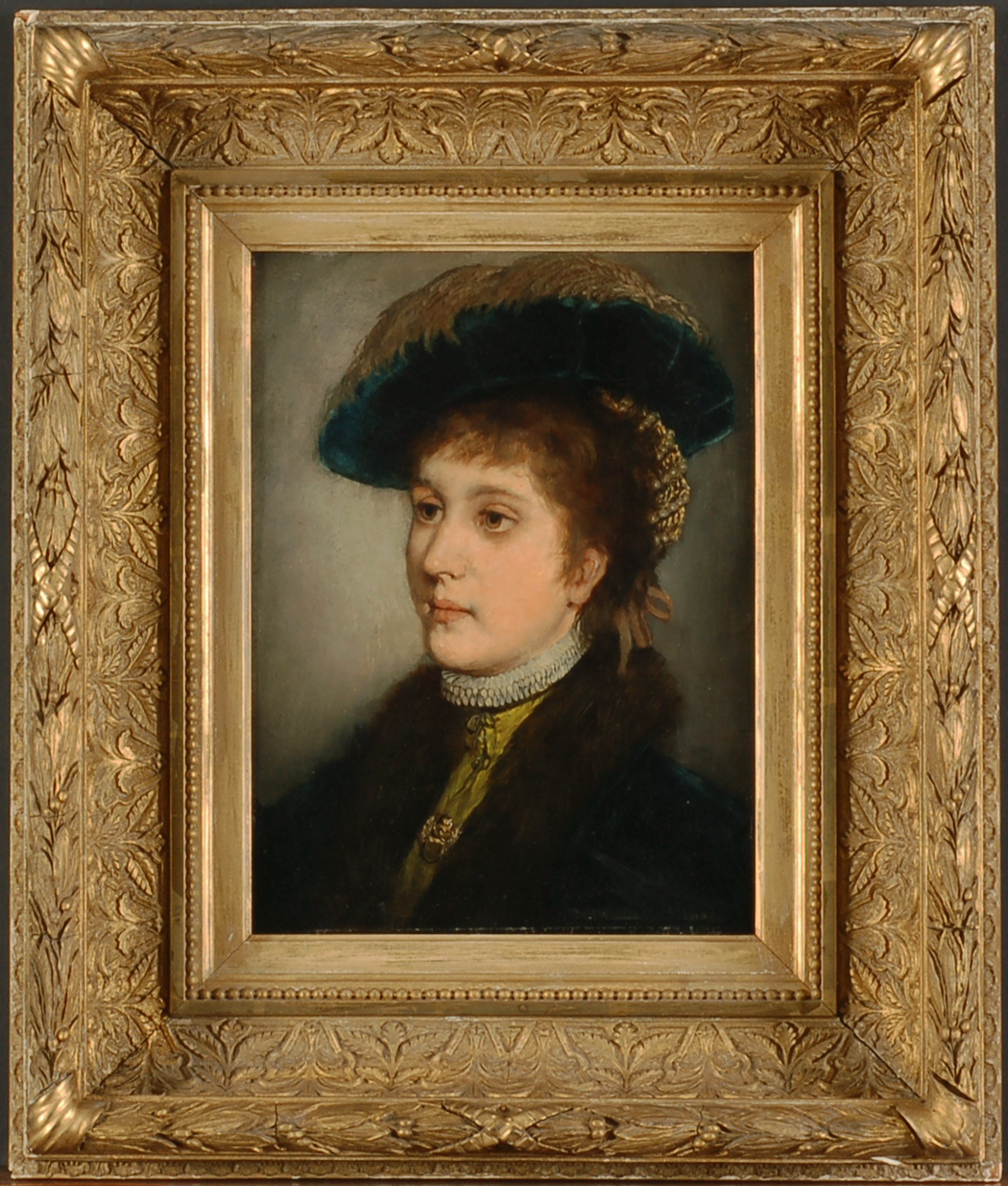 Portrait of Miss Davenport
