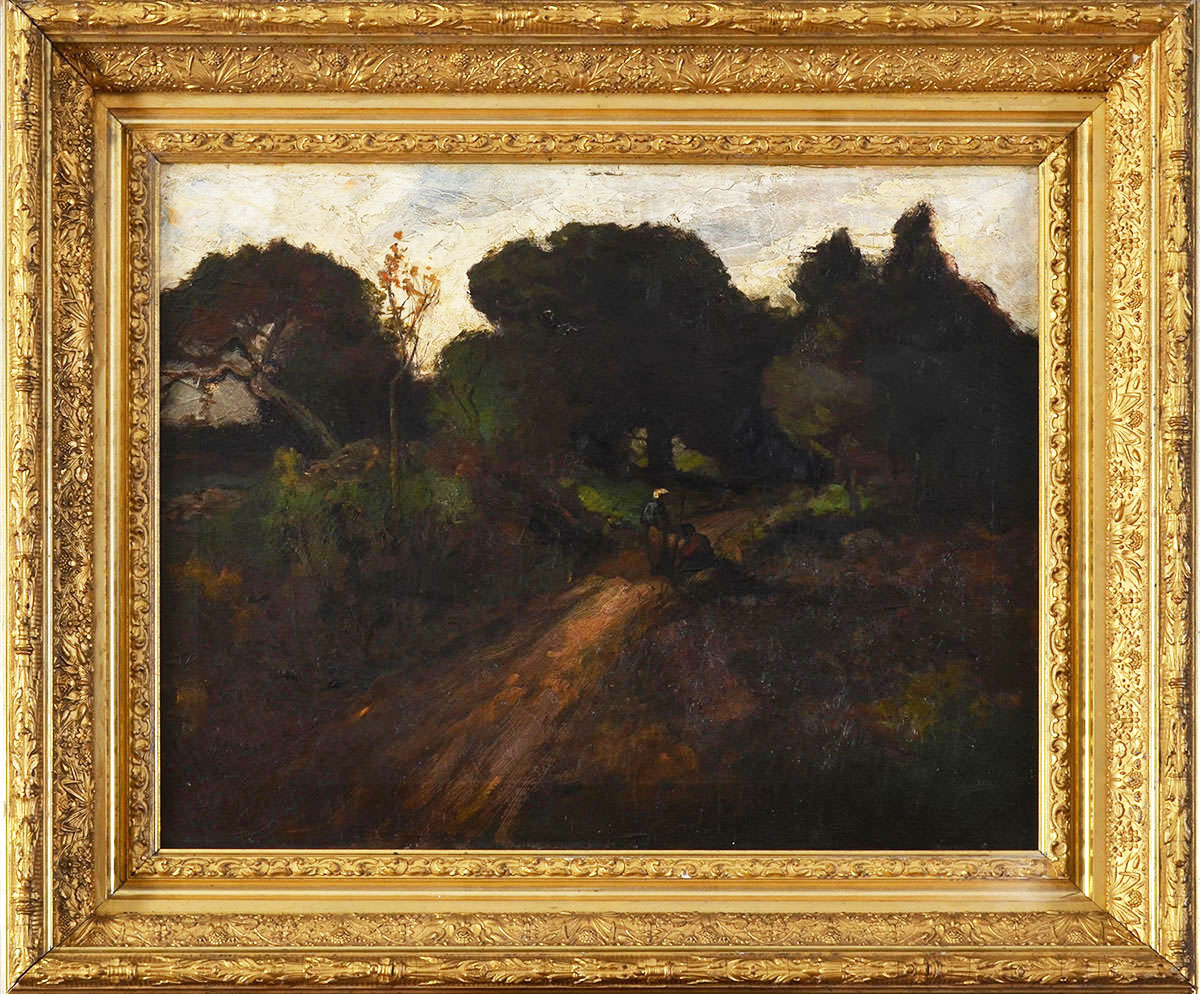 Barbizon Landscape with a Country Road