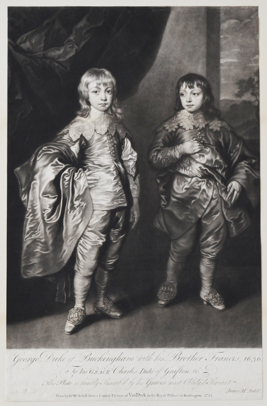 George, Duke of Buckingham, with his brother Francis