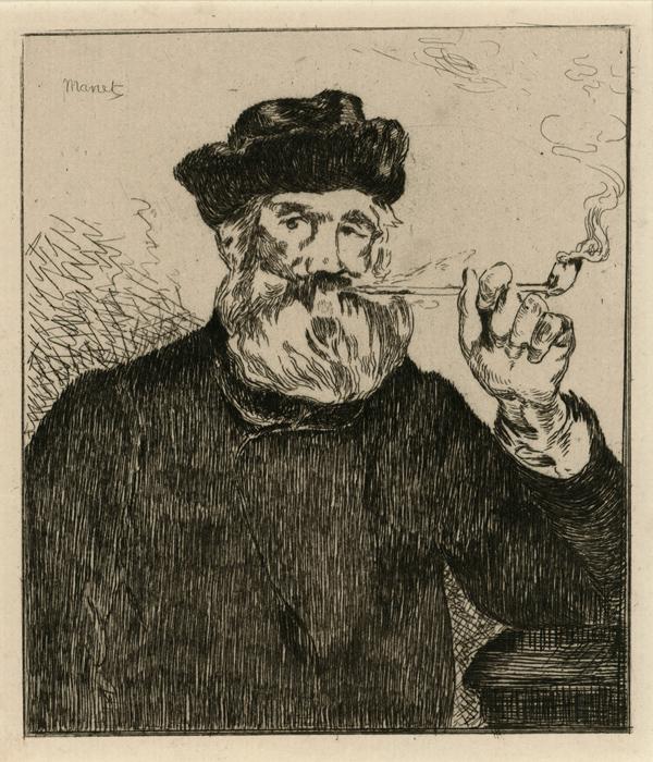 Le Fumeur II