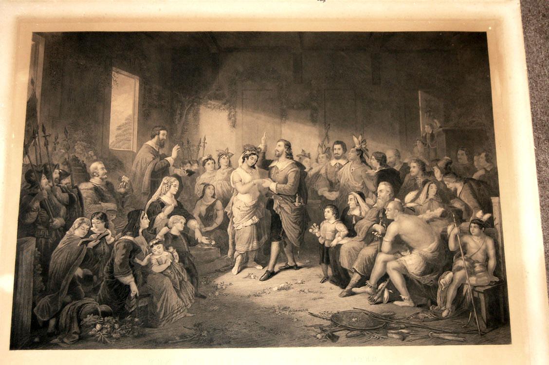 The Marriage of Pocahontas