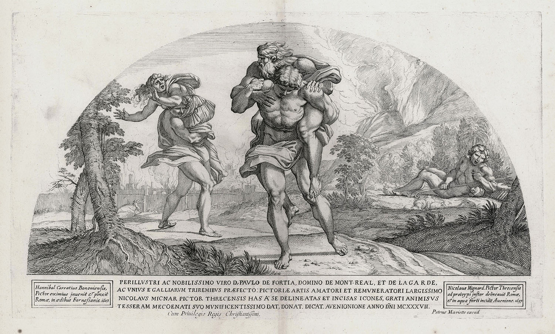 Odysseus Escaping Polyphemus