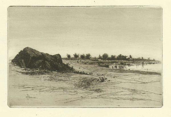 Beach At Marblehead