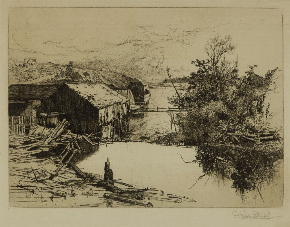 Mills at Mispek, N.B.