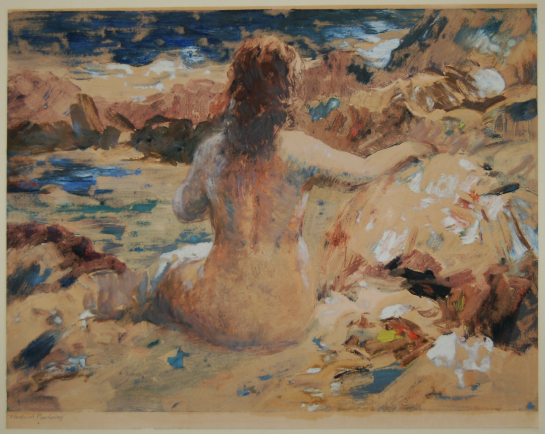 Nude on the Shore