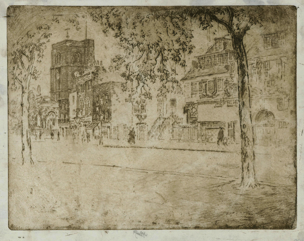 Chelsea Church, unpublished Artist's Proof