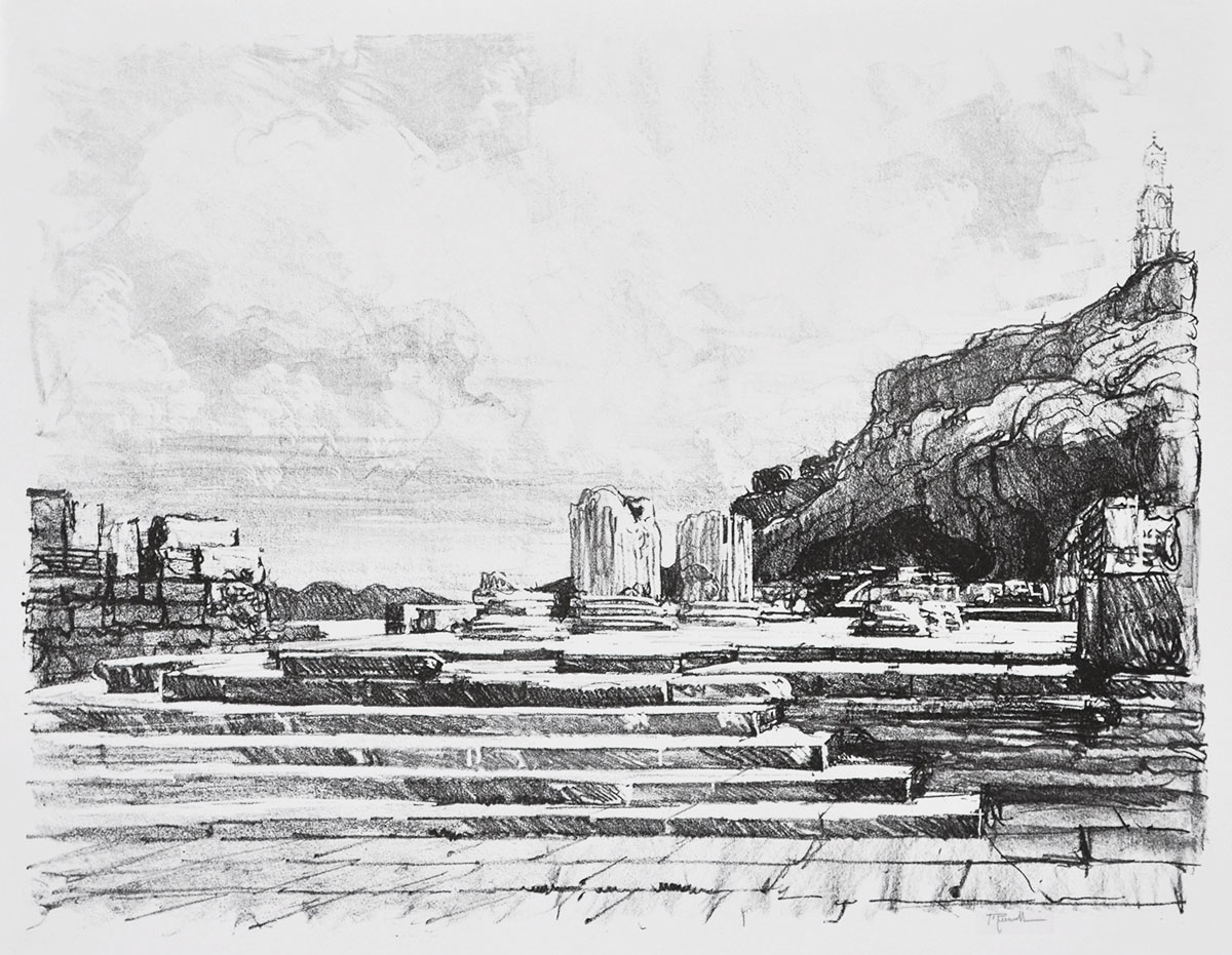 Eleusis: The Pavement of the Temple