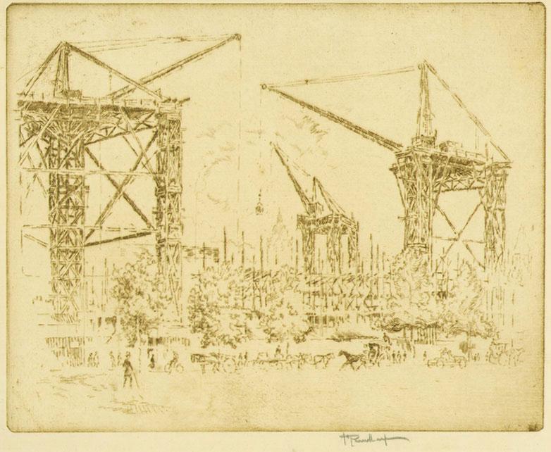 Great Cranes, South Kensington