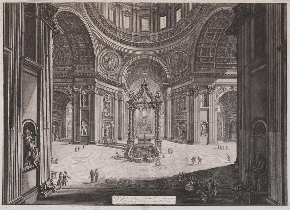 Veduta interna della Basilica