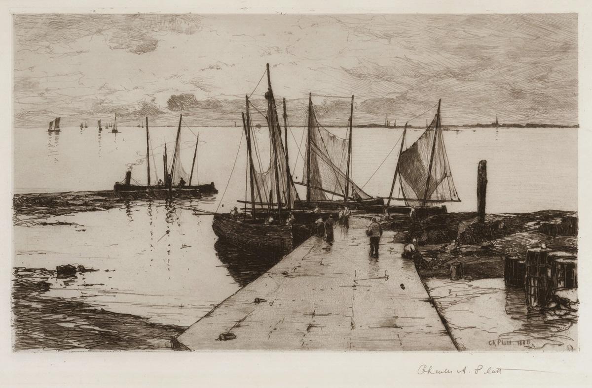 Pier at Larmor
