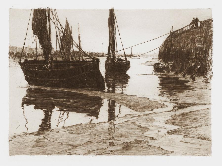 Low Tide, Honfleur