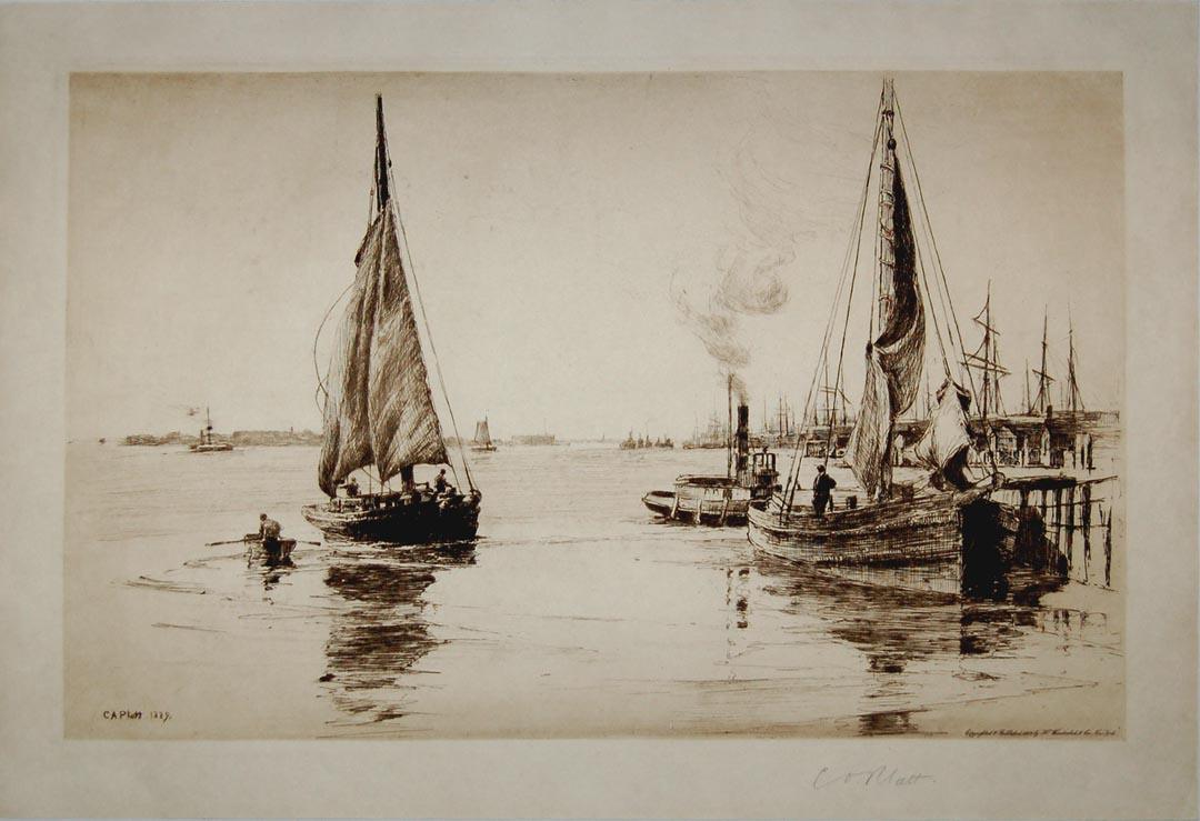 Two Sloops, East River