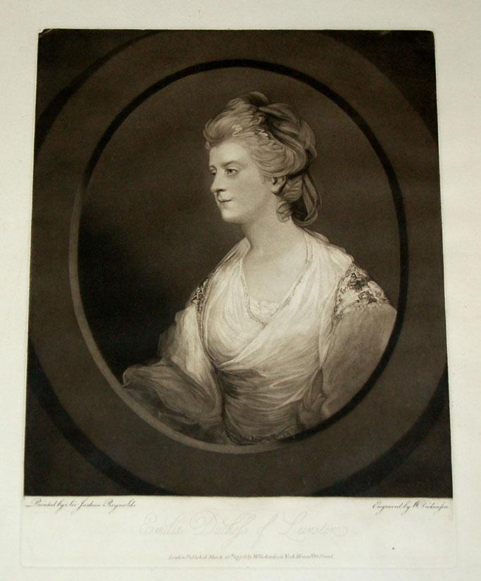 Portrait of Emilia Duchess of Lemster