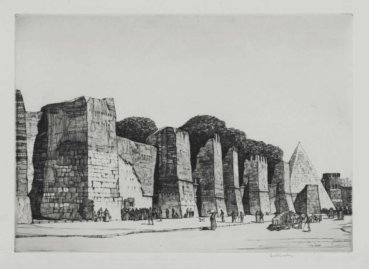 The Aurelian Wall - Rome
