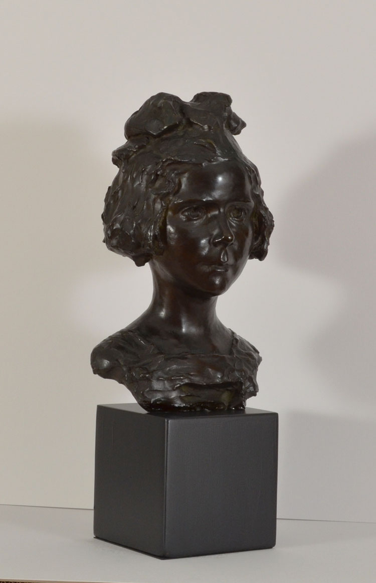 Portrait Bust of a Young Girl