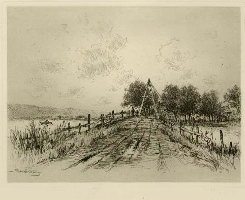 Tole Gate And Bridge