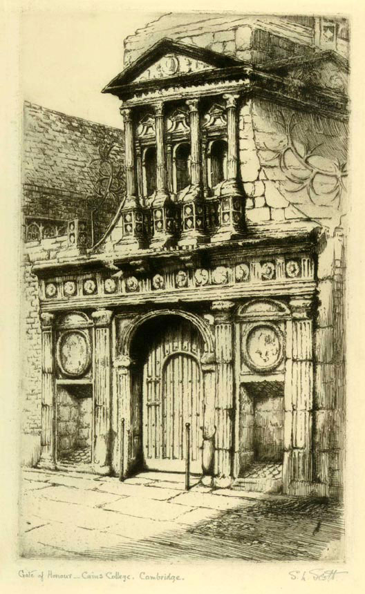 Gate Of Honour, Cain's College