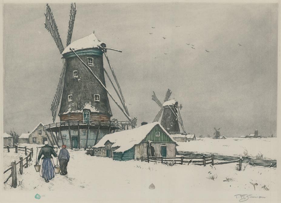Dutch Landscape in Winter