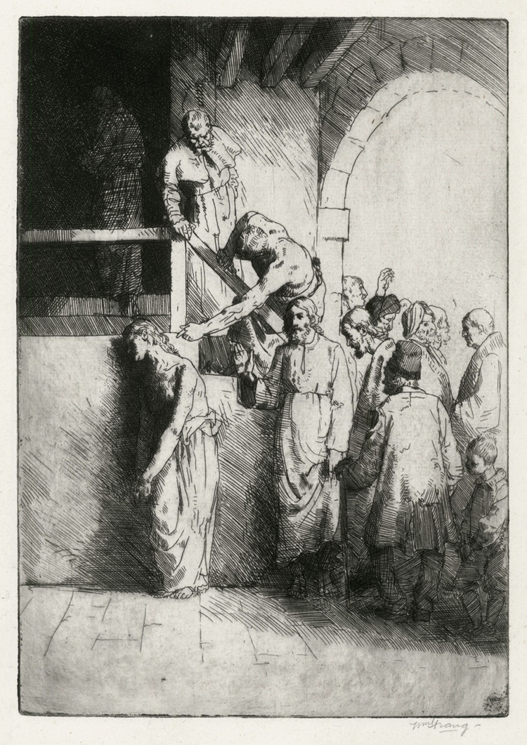 The Woman in the Temple