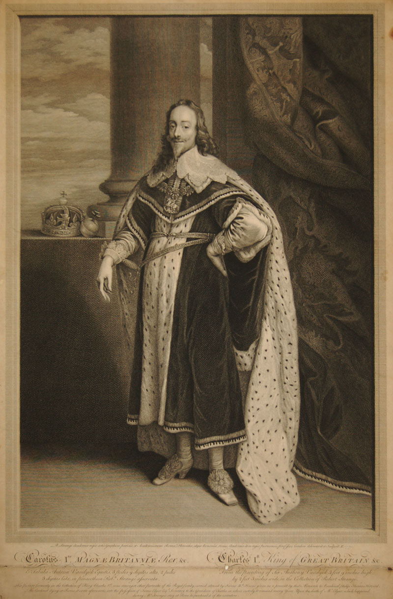 Portrait of Charles I, King of Great Britain