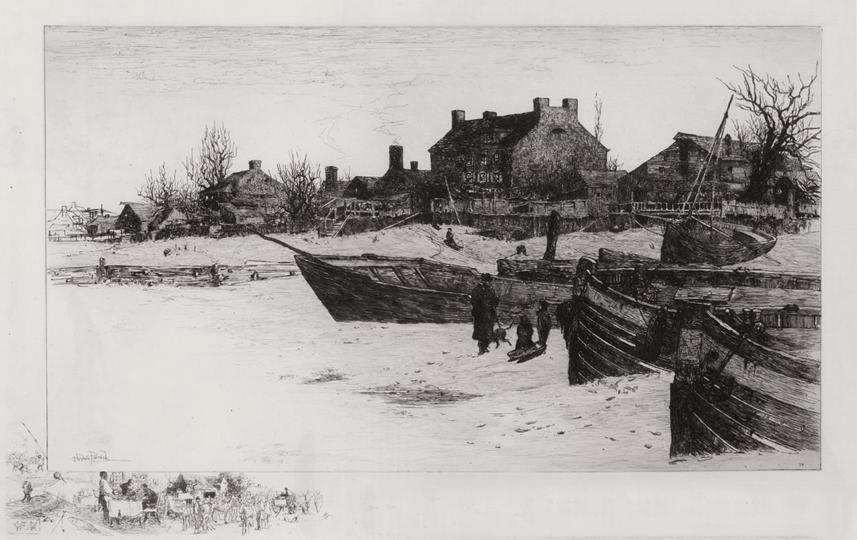 Trenton Winter, 1883