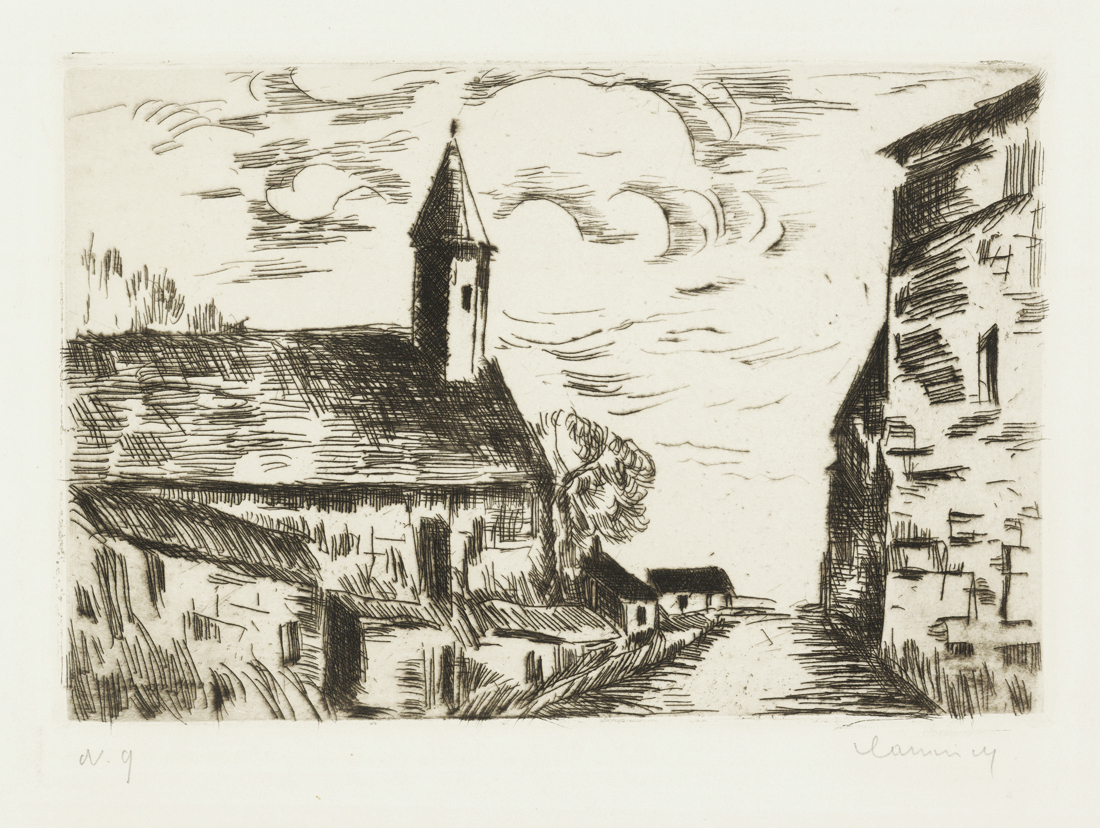 L' Eglise de Fessanvilliers