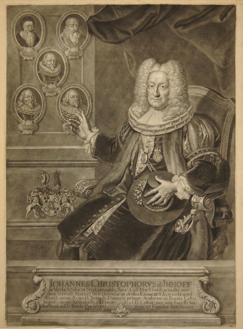 Iohannes Christophorus ab Imhoff