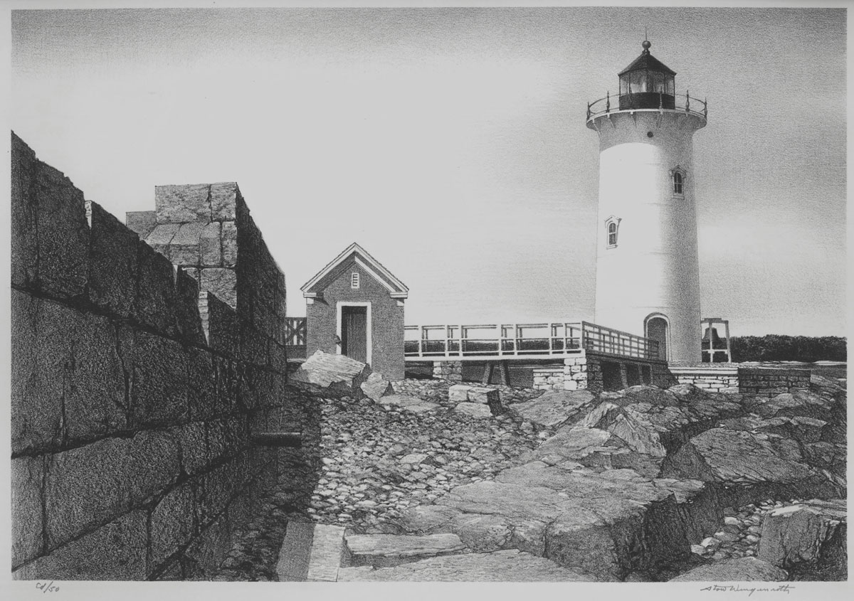 Fort Point Light, New Castle, New Hampshire