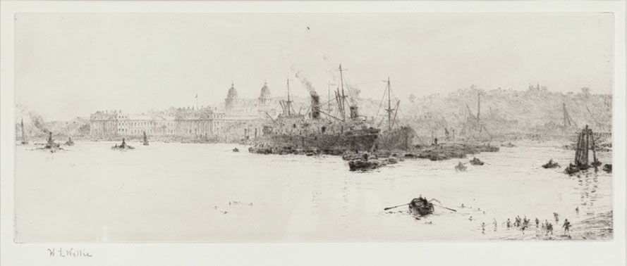 Sugar Boats Off Greenwich